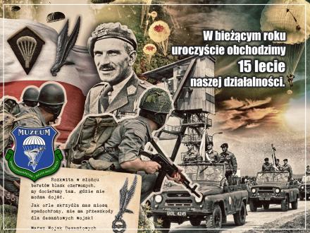 15 lecie Muzeum Spadochroniarstwa i Wojsk Specjalnych